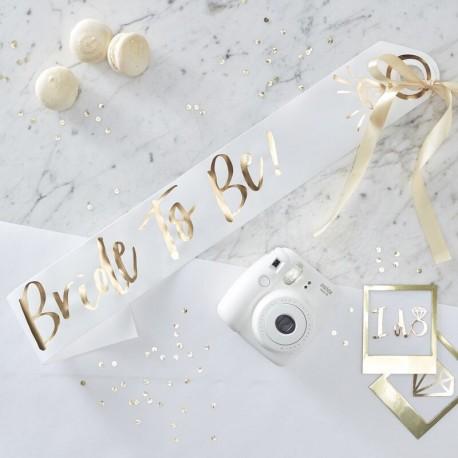 FASCIA BRIDE TO BE