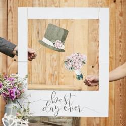 CORNICE PHOTOBOOTH WEDDING personalizzabile