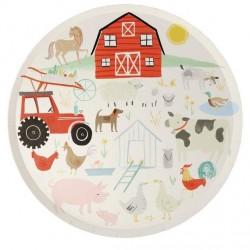 8 piatti fattoria