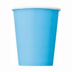 14 bicchieri di carta - azzurro