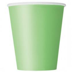 14 bicchieri di carta - verde