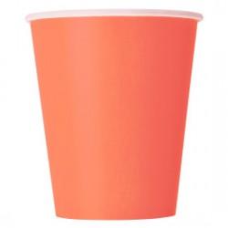 14 bicchieri di carta - rosa