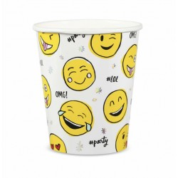 8 Bicchieri Emoji