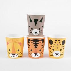 8 Bicchieri Felini