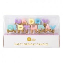 Candela HAPPY BIRTHDAY ORO