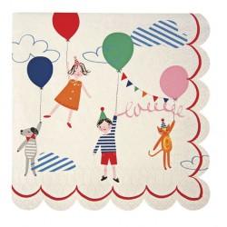 20 tovaglioli piccoli 'children' toot sweet