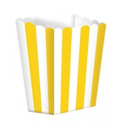 5 scatoline popcorn 'yellow stripes'