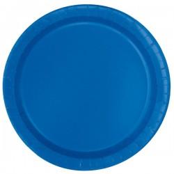 20 piattini in carta - bluette