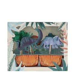 Cupcake Kit DINOSAURI