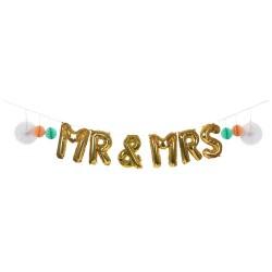 BANNER MR & MRS oro