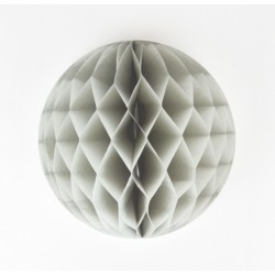 honeycomb ball - grigio diam. 25 cm