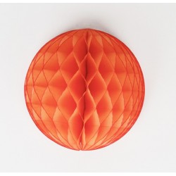 honeycomb ball - arancio diam. 25 cm