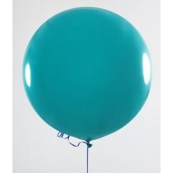 pallone gigante rotondo TURCHESE - diametro 90 cm