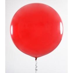 pallone gigante rotondo ROSSO - diametro 90 cm