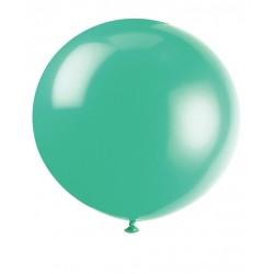 pallone gigante rotondo TEAL - diametro 90 cm