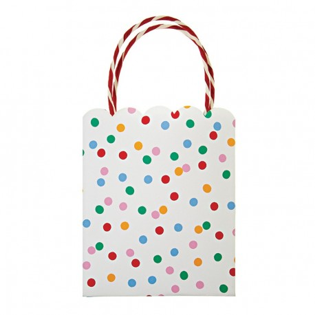8 party bags 'Toot sweet', 12,70 x 25,40 cm