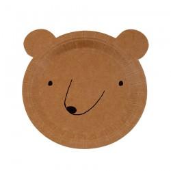 12 piatti orso