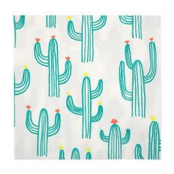 20 tovaglioli grandi cactus