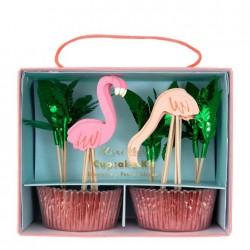 Cupcake Kit Flamingo