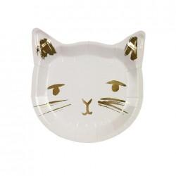 8 Piattini Cat