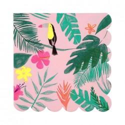 20 Tovaglioli Tropicali