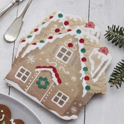 16 Gingerbread Shaped Tovaglioli