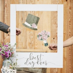 CORNICE PHOTOBOOTH WEDDING personalizzabile