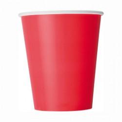 14 bicchieri di carta - rosso