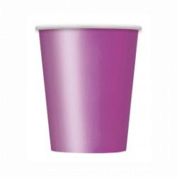 14 bicchieri di carta - viola