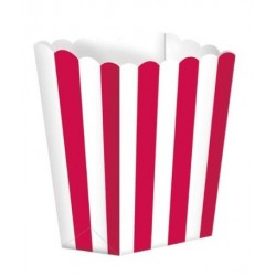 5 scatoline popcorn 'red stripes'
