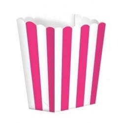 5 scatoline popcorn 'hot pink stripes'