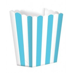 5 scatoline popcorn 'light blue stripes'