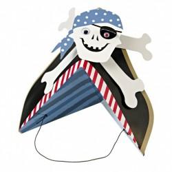 8 cappellini pirati