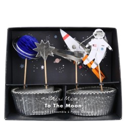 Cupcake Kit 'to the moon'