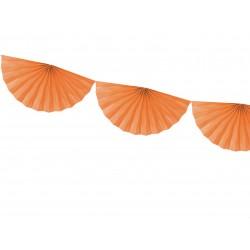 FESTONE a VENTAGLIO arancio
