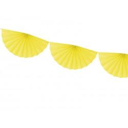 FESTONE a VENTAGLIO giallo
