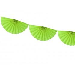 FESTONE a VENTAGLIO verde lime