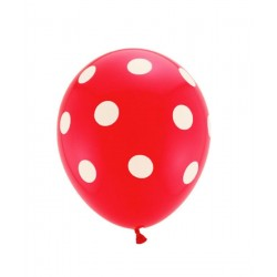 Palloncino POIS ROSSO/BIANCO
