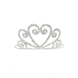 CORONCINA argento glitter
