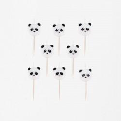 Set 8 Candeline PANDA
