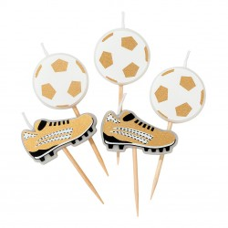Set 5 candeline CALCIO