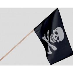 Bandiera pirata 45 cm x 30 cm in poliestere