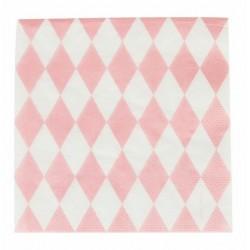 20 tovaglioli 'pink diamond'