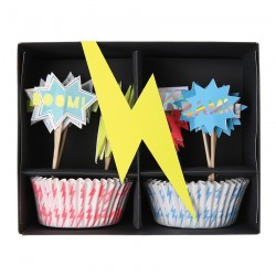 cupcake kit supereroi