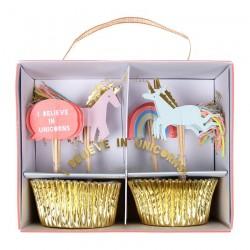 cupcake kit unicorno