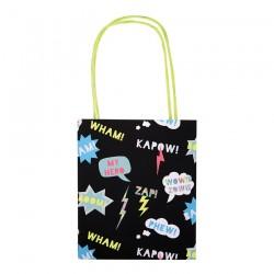 8 party bags supereroi