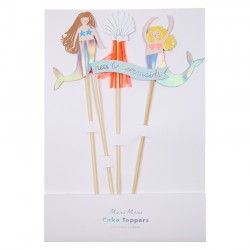 kit toppers 'Let's be Mermaids'