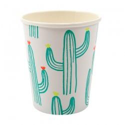 12 bicchieri cactus
