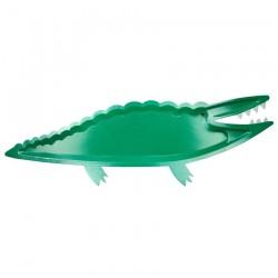 4 piatti da portata grandi coccodrillo