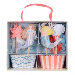 Cupcake Kit 'Let's be Mermaids '